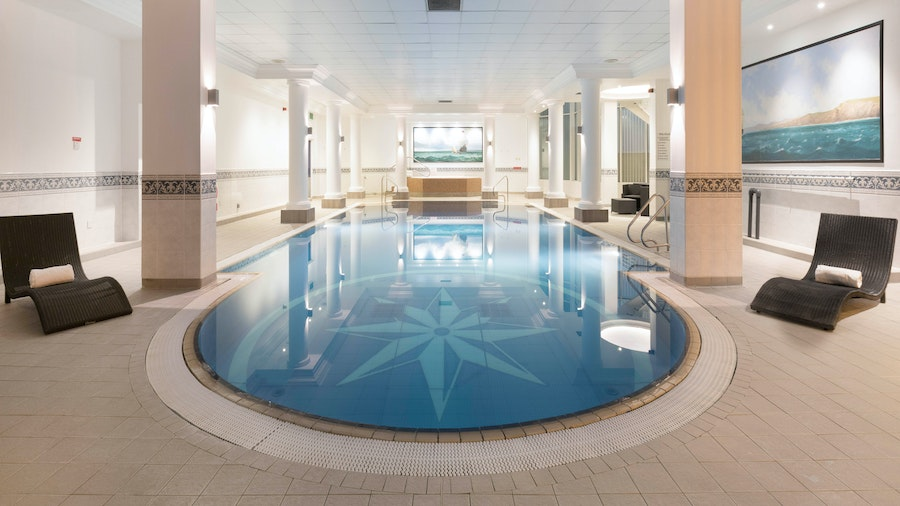 Grand Harbour Hotel Southhampton swimming pool