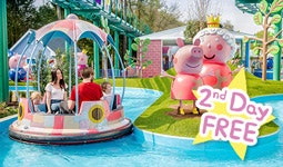 2nd Park Day FREE with Paultons Breaks