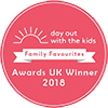"""Days out with kids"" family favourites 2018 award winner"