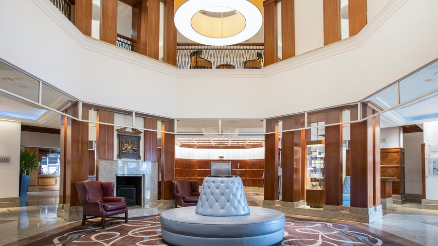 Grand Harbour Hotel - lobby