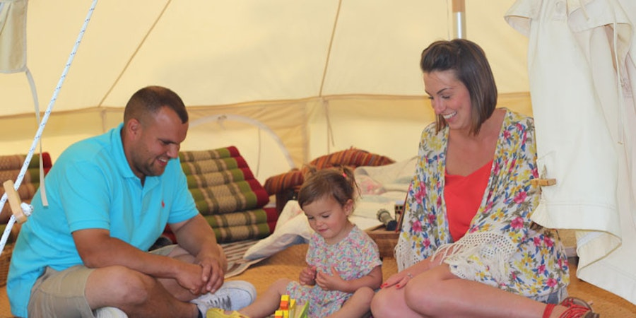 Meadow View Bell Tents - family