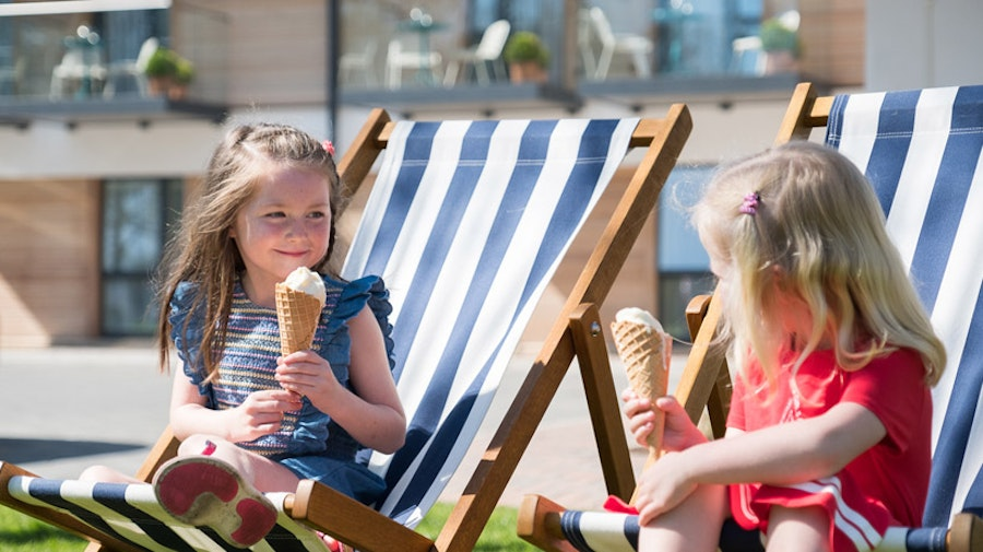 Lodge at Solent - kids ice-cream